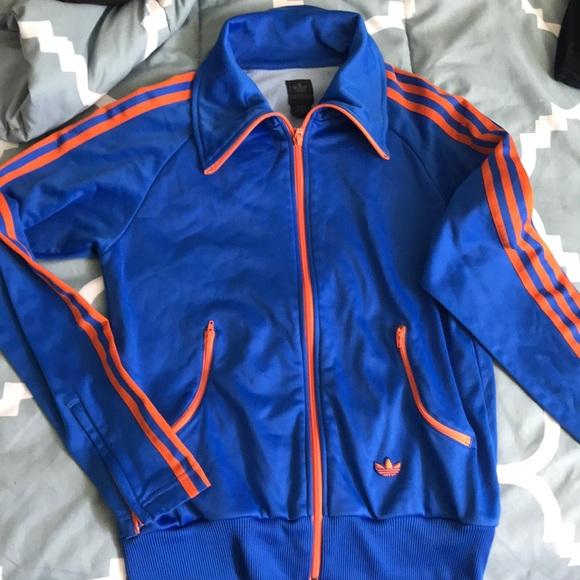 orange Brasil jacket track Blue and adidas wy8n0OmvN
